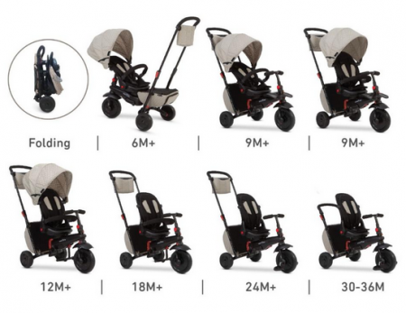 tricycle evolutif kinderkraft