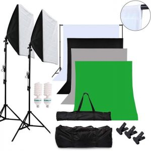 Kit studio photo professionnel